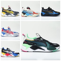 zapatos frescos para correr Rebajas Puma RS-X New RS-X Reinvention casual Zapatillas de running para hombre Cool Black white Fashion Creepers dad High Quality Men Women Trainer sports Sneakers