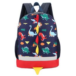 mochilas pequenas para meninas Desconto As Novas Crianças Mochila Bonito Dos Desenhos Animados Pouco Dinossauro Crianças Mochilas Escolares para Meninos Meninas Criança Crianças Mochilas Designer Crianças