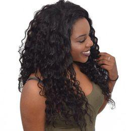 Монгольский парик онлайн-Монгольский Loose Wave Full Lace Человеческих Волос Парики Отбеленные Узлы с Волосами Младенца Девы Парик Фронта Шнурка Glueless 6-26 дюймов Пинг