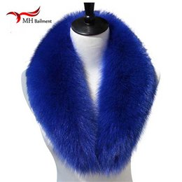 Real  Fur Collar Scarf Scarves for Women Shawl Wraps Shrug Neck Warmer Wholesale Stoles Ring Cotton Scarf, Hat Glove Sets cheap fox fur stoles от Поставщики меховые шлемы из меха лисы