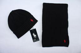 Kaschmir anzüge für männer online-2019 Hihg Qualität Klassischer Kaschmirschal Luxus Designer Männer Frauen Marken Schal zwei Stück Anzug Hut Mode Schals
