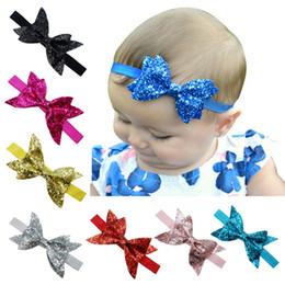 Mädchen Bowknot Crown Stirnband elastische Prinzessin Hair Band Kid Haarschmuck