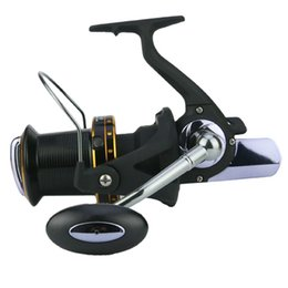 Carretes de brazo online-Yumoshi Fishing Spinning Reel 13 + 1Bb High-Profile Exclusivo de agua salada Cnc Rocker Arm carretes de pesca