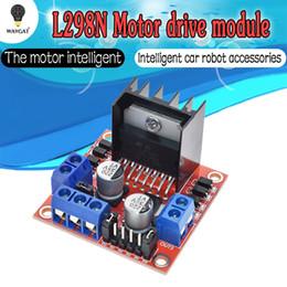 2019 i connettori Modulo driver WAVGAT L298N L298 motore passo-passo smart car robot breadboard peltier ad alta potenza