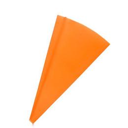 Canada 2 tailles réutilisable silicone glaçage tuyauterie crème sac à pâtisserie squeeze sac de buse confiserie fondant décoration de gâteau outils orange Offre
