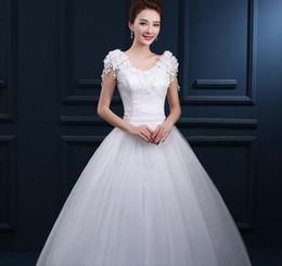 2019 robe de soirée en dentelle bleu pastel Robe de bal blanche robe de mariée en tulle Robe de mariée Tulle Robe de mariée pour la mariée