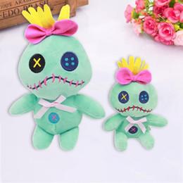 Pellicola del giocattolo online-12 cm / 22 cm Kawaii Lilo iAndi Stitch Scrump giocattoli di peluche Doll Stich peluche animali di peluche farciti Giocattoli per bambini Regalo di compleanno per bambini