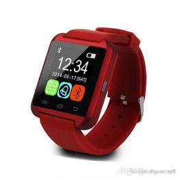 Wholesale Offerta speciale Hot Vendita di Ce Rohs cinturino in silicone Smart Watch U8 Orologio da polso economici Supporto Bluetooth Speaker Android Mobile Phone