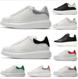 Saison saison Designer Marque 3M réfléchissant super cuir chaussures pour hommes chaussures à lacets plate-forme semelle oversize baskets blanc noir chaussures de sport ? partir de fabricateur