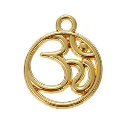 lemegeton Fishhook Retail Retail Fashion New Design Date 20pcs beaucoup OM cercle de yoga charmes religieux ? partir de fabricateur