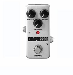 Effektpedalkompressor online-Kokko FCP2 Kompressor Gitarren-Effekt-Pedal Mini E-Bass-Gitarren-Effekte Ture Bypass-freies Verschiffen