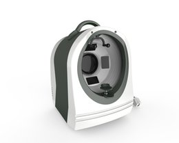 Máquina de diagnóstico de piel portátil online-Máquina analizador facial portátil 3D UV Magic Mirror Analizador de piel Analizador de piel Sistema de diagnóstico de piel con píxeles altos