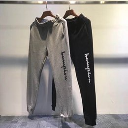 af724bcbf Designer casual pants fashion printed pants thin section cotton trousers  street hip hop trend beam pants