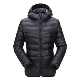 Argentina Zogaa mujeres ultra ligera chaqueta con capucha abajo cubren invierno Slim Fit Solid cremallera Abrigo Otoño Invierno Mujeres Parka Outwear Suministro