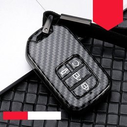 euro cars Coupons - ABS plastic car key case For Hrv Civic 2017 Accord 2003-2007 CR-V Freed Pilot Odyssey Euro Jade 2014-2016 car styling new