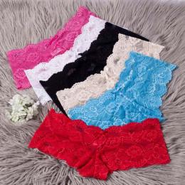 Tanga sexy das meninas brancas on-line-AMYLOVER Sexy Bikini Roupa interior para mulher de Nova mulheres atam Briefs cuecas erótica Lingerie Black Red White Color Plus Size Meninas Thong Drop Ship