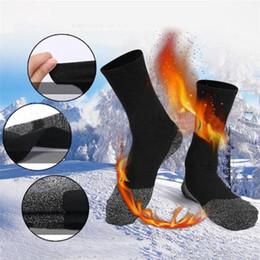Inverno Calzini Neri Work Boots Calze da Lavoro Termici lotto sicurezza Calze Stivale Caldo