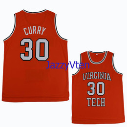 cc8c4f5f1b39  30 Dell Curry throwback Tech University Hokies College Retro Classic  Basketball Jersey Mens Stitched Davidson Jersey Jerseys