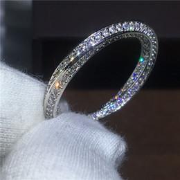 pietre aaaaa cz Sconti Croce gioielli amanti 925 anello in argento sterling Pave impostazione AAAAA Zircone Cz pietra Fidanzamento wedding band anelli per le donne da sposa J190521