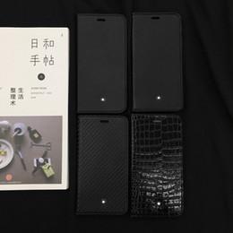 2019 samsung galaxy e5 telefon fällen Luxus-Designer vier Typen schwarzer Lederabdeckungsfall für iphone 6 6s 7 8 8plus für iphone x xr xs max für iphone 11 11 pro 11 pro max