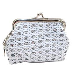 sacs à main Promotion 2019 portefeuille femmes grandes paillettes porte-monnaie Mesh Girls Bag Creative étudiant petite femme portefeuille porte-monnaie sac à main femmes