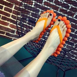 tongs à bulles Promotion ARSMUNDI 2019 Summer Bubble bascules à fond plat slip maison massage au raisin chaussures de plage pour femmes confortables marée M703