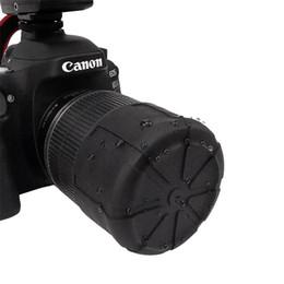 casquillos centrales a presión Rebajas Nueva cubierta de lente de silicona, cubierta de lente de cámara SLR, cubierta de lente a prueba de polvo e impermeable, cubierta protectora universal Accesorios de cámara caliente