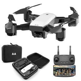 caméra rc hd Promotion Drone FPV RC avec retour vidéo en direct Retour à la maison Pliable RC avec le jouet pliable Quadrocopter d'appareil photo HD 720P / 1080P VS DJI Mavic Air drone