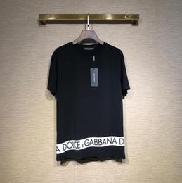 65c05d0190e0 2019 Brand dolce T Shirts Classic yeezus Robot Letter print hip-hop  skateboard tee justin bieber Harajuku streetwear Lovers DGT-shirt