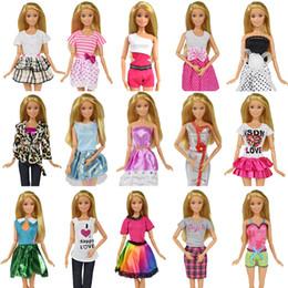 59c27a8be bambole di barbie Sconti 9 Articolo / Set Accessori per bambole = 3 pezzi  Vestiti per
