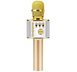 оптовые беспроводные микрофоны для караоке Скидка Мобильный телефон караоке микрофон K песня петь бар беспроводной микрофон оптом