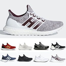 Burgund schuhe männer online-Adidias 2019 Game of Thrones X Ultra boost 4.0 House Stark mens Running shoes Orca White Burgundy Primeknit sports trainers men women sneakers