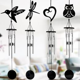 Argentina Creativa del viento Campana metal moderno de Hummingbird Wind Chimes con Fresh Music Ornamentos colgantes granja decoración de metal Wind Chimes Suministro