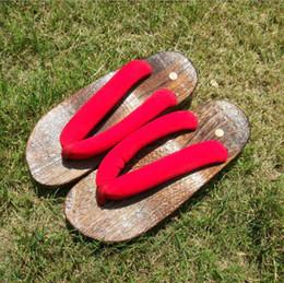 e82a998919 2019 tamancos sapatos homens HOMENS e mulheres GETA Japonês SAMURAI Tamancos  Sandálias De Madeira Unsex tamancos
