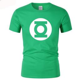 2019 grandes heróis Lanterna Homens The Big Bang Teoria Qualidade Superior Algodão Cooper Super hero T Shirts Engraçado frete grátis Unisex Casual Tshirt top desconto grandes heróis
