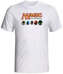 tarjetas de mtg Rebajas Magia de la camiseta de la reunión juego de cartas MTG divertido envío gratis camiseta informal