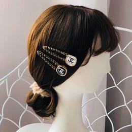 Clips de los amantes online-diseñadores de marcas populares de la manera bandas para la cabeza carta pinza de pelo para los amantes de la boda Diseño Fiesta señora de las mujeres Regalo de la joyería de lujo para la novia