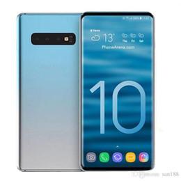qwerty teléfonos celulares Rebajas Goophone WCDMA 3G S10 6.3 pulgadas MTK6580 desbloqueado teléfono celular Quad Core Android 7.0 1G Ram 8G Rom teléfono inteligente móvil