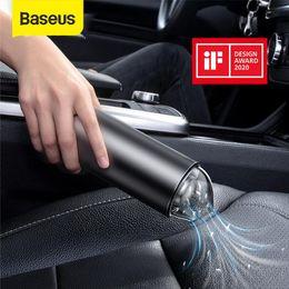 2019 publicidade de projetor Baseus Car Vacuum Cleaner 4000Pa Wireless Handheld Para desktop em casa de carro Interior Limpeza mini portáteis Cleaner Auto Vácuo