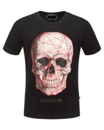 Argentina Mi nueva marca de secado rápido camiseta de los hombres ropa de marca rhinestone cráneo rhinestone impreso camiseta masculina de calidad superior camiseta casual Suministro