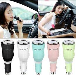 Nanum auto diffusor online-Für Nanum Tulip Auto Aroma Diffuser Mini-USB-Maschine Auto Aroma Diffuser