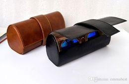Caixa dos vidros do plutônio / caixa dos óculos de sol / caixa caixa dos eyewear / espetáculos, 2 cores na opção de Fornecedores de cílios espessos naturais