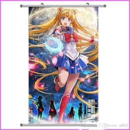 sailor moon anime figures Coupons - Comic Shaft Sailor Moon Drawing Cloth Painting Periphery Hanging Picture Japanese Anime Hot Sale Nice Looking Multiple Styles student 4mkb1