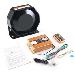 Dynoracing 12V 400W 8 Car Sound fort Avertissement Alarme Police Siren Président Corne avec le système MIC et télécommande sans fil ? partir de fabricateur