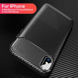 2019 iphone è caduto Custodia rigida antiurto per iPhone rigida in silicone Custodia rigida per iPhone X Xr Xs Max 8 7 6 6S Plus sconti iphone è caduto
