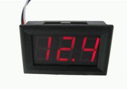 Tester di volt online-DC4.5V-30.0V Mini tester voltmetro digitale test di tensione 2 cavi per indicatore LED per auto auto KKA4534