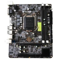 1156 Placa base Interfaz de la CPU Placa base para computadora de escritorio de alto rendimiento Intel P55 6 canales PC Placa base LGA 1156 Placa base LGA 1156 ... desde fabricantes