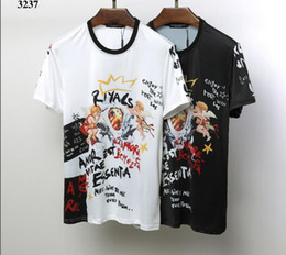 T shirt homme hong kong en Ligne-T-shirt à manches courtes pour hommes, style Hong-Kong, rouge net, version coréenne lâche de la nouvelle ins mannequin ultra-feu étudiants demi-manche # 025