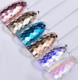 Nail Art Sequins Laser Holo Nails Glitters Powder Set 3d Tips Manicure Accessories Gel Polish Decorations DIY New