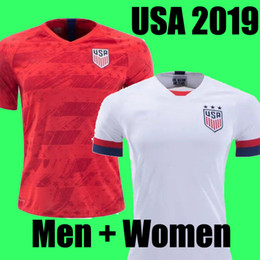 soccer jerseys united states Coupons - Gold cup 2019 America Home away USA Soccer Jersey 2019 copa america United States Soccer Shirt USA men Football SHIRT Uniform